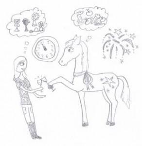 nieuwjaar met je paard