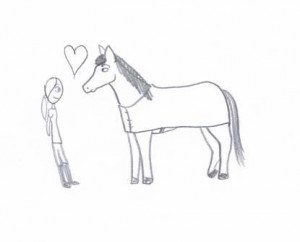 liefde tussen ruiter en paard