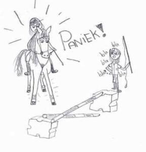 paardrijles paniek 2