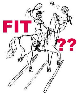 fit paardrijden tekst klein